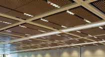wood grid panel for suspended ceiling BARZ� Ceilings Plus