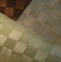 wood imitation wallpaper WOVEN WOOD INNOVATIONS
