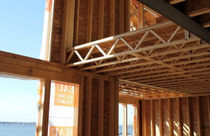 wood lattice beam OPEN JOIST TRIFORCE SPANOLUX