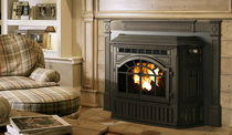 wood pellet fireplace insert MT VERNON AE QUADRA-FIRE
