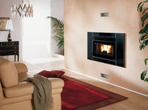 wood pellet fireplace insert COMFORT P80 Nordica