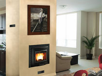 wood pellet fireplace insert COMFORT MAXI Nordica