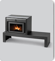 wood pellet fireplace insert KIT CONFORT CS THERMOS S.R.L.