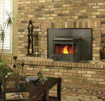 wood pellet fireplace insert NPI 40 Napoleon Fireplaces