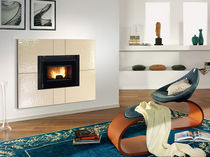 wood pellet fireplace insert COMFORT MINI CRYSTALL Nordica