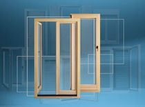 wood sliding french window  LOKVE D.D.