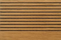 wood wall panelling SCREENBALL®: teak PREAM s.r.l