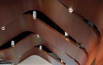 wooden acoustic ceiling tile QUADRILLO Decoustics