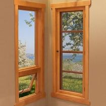 wooden-aluminium double glazed awning window (FSC certified) ULTRA SERIES PUSH-OUT KOLBE