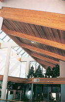 wooden beam CLEAR FINISH & PATTERN Power Wood Corp.