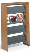 wooden brochure display rack  smith system