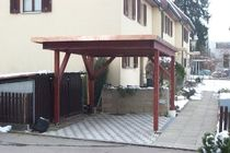 wooden carport LIESTAL Haring Engineering Ltd