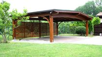 wooden carport ARCO Gazebodesign