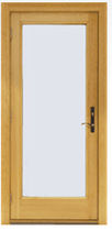 wooden casement patio door A-SERIES HINGED PATIO DOORS Andersen
