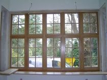 wooden casement window OAK Kingsbridge Joinery