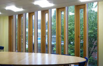 wooden casement window THOMAS' SCHOOL Glass Tech Facades