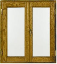 wooden casement window VETRATA Giannattasio porte e finestre