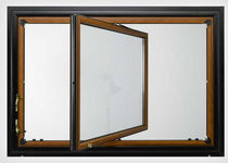 wooden center pivot window GIUDITTA ® MURA