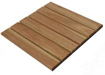 wooden deck tile for exterior floors FT-011 Burapha Agro