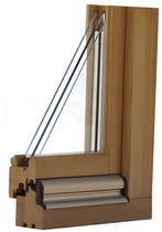 wooden double glazed casement window REFLEX Menuiserie David