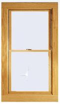 wooden double glazed sash window (Energy Star certified) A-SERIES Andersen