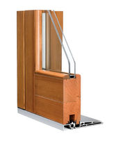 wooden double glazed sliding window SB CORMO
