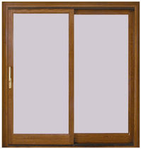 wooden double glazed sliding window VETRATA Giannattasio porte e finestre
