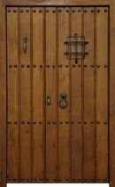 wooden double swing interior door ALHAMBRA FIJO CONELY