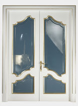 wooden double swing interior door THE COLLECTOR.1 sigegold