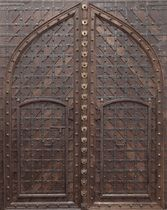 wooden entrance door AC - 099 CONELY
