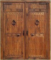 wooden entrance door CORDOBA Portón Clásico