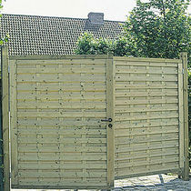 wooden entrance gate ELEGANT Collstrop