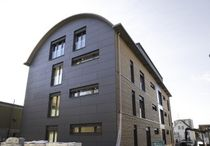 wooden facade cladding ULTRA BRAG, BIRSFELDEN Haring Engineering Ltd