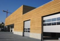 wooden facade cladding WERKHOF ARLESHEIM Haring Engineering Ltd