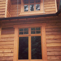 wooden facade cladding HAIDA SKIRL Haida Forest Products