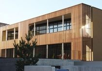 wooden facade cladding PIC, ALLSCHWIL Haring Engineering Ltd