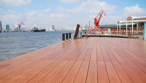 wooden fixed pontoon BRIDGE & PIER DECKING Accsys Technologies