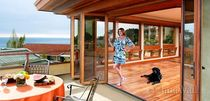wooden folding patio door WD65 NanaWall