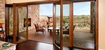 wooden folding patio door VSW65  NanaWall