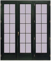 wooden folding patio door VETRATA Giannattasio porte e finestre