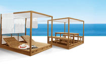 wooden gazebo (canvas covering) SUMMER CABANAS Deesawat Industries