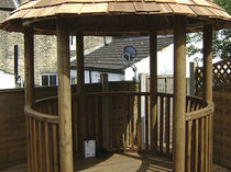 wooden gazebo (thatch roof) 2.8M PREMIUM The Lapa Company   The Lapa Company