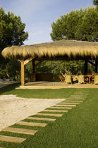 wooden gazebo (thatch roof)  CARMO