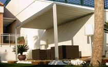 wooden patio canopy CELEX® GRAVENT