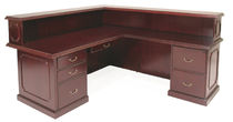 wooden reception desk PRESTIGE  Regency, Inc.