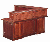 wooden reception desk HERITAGE Absolute Furniture Industries