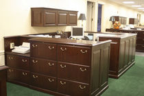 wooden reception desk HERITAGE Gianni