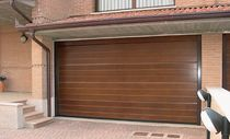 wooden sectional garage door CIVIC Breda Sistemi Industriali S.p.A. - Portoni Seziona