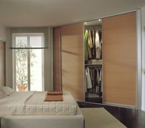 wooden sliding door for walk-in wardrobe ZN 21 zemma srl