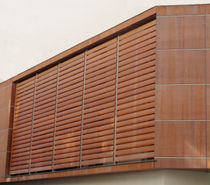 wooden solar shading EQUATEUR SAB INTERNATIONAL